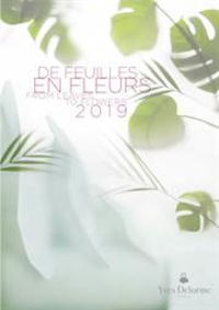 Prospectus Yves Delorme STRASBOURG : De feuilles en fleurs 2019