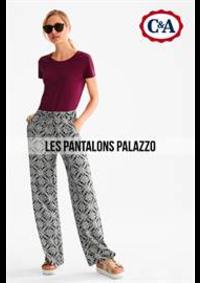 Prospectus C&A Argenteuil : Les Pantalons Palazzo