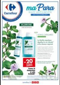 Prospectus Carrefour SANNOIS : Parapharmacie Avril