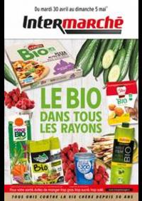 Prospectus Intermarché Super Villeneuve Saint-Georges : LE BIO DANS TOUS LES RAYONS