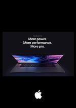 Prospectus  : MacBook Pro