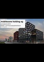 Prospectus Mobilezone : Jahresbericht 2018