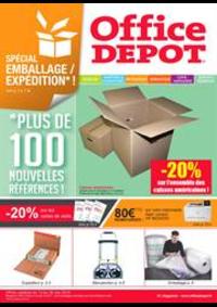 Prospectus Office DEPOT : Special emballages et expéditions !