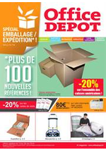Prospectus Office DEPOT : Special emballages et expéditions !