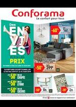Promos et remises Conforama : Des envies plein les prix