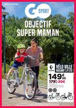 Prospectus Go Sport : Objectif super maman