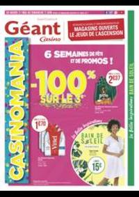 Prospectus Géant Casino BOISSY SAINT LÉGER : 6 semaines de fête et de promos !