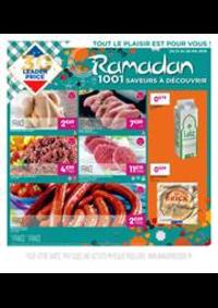 Prospectus Leader Price Domont : Ramadan