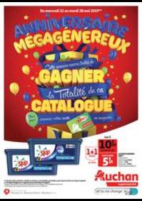 Prospectus Auchan ISSY LES MOULINEAUX : Anniversaire Mégagénéreux