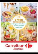Promos et remises Carrefour Market : Promotions glaces et boissons