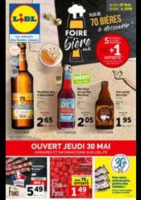 Prospectus Lidl VOISINS LE BRETONNEUX : Foire à la Bière