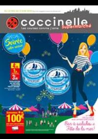 Prospectus Coccinelle Supermarché PARIS 108/110 RUE DES PYRENEES : Bar à salades et Fête de la mer!