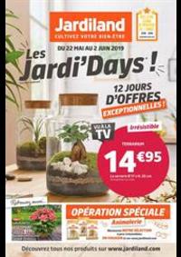 Prospectus Jardiland BONNEUIL SUR MARNE : Les Jardi' days!