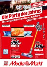 Prospectus Media Markt Bern  : Die Party des Jahres