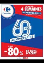 Promos et remises  : L'Anniversaire Carrefour !