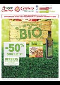 Prospectus Supermarchés Casino PARIS 16 Rue des Belles Feuilles : Sélection BIO