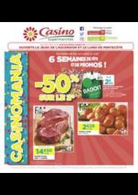Prospectus Supermarchés Casino CLICHY 101 boulevard Jean Jaurès : 6 semaines de fête et de promos !
