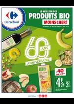 Promos et remises Carrefour : LE MEILLEUR DES PRODUITS BIO MOINS CHER !