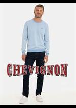 Prospectus Chevignon : Pulls Homme