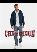Prospectus Chevignon : Cuirs Homme