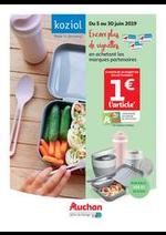 Prospectus Auchan drive : Marques partenaires Koziol