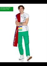 Prospectus Benetton : Collection Vert / Homme