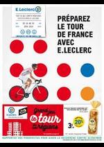 Prospectus E.Leclerc : PRÉPAREZ LE TOUR DE FRANCE AVEC E.LECLERC