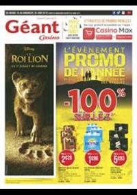 Prospectus Géant Casino BOISSY SAINT LÉGER : L'évènement promo de l'année
