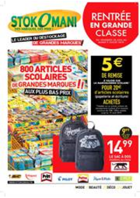 Prospectus Stokomani Saint-Ouen-l'Aumône : Rentrée en grande classe