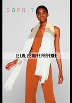 Prospectus  : Le Lin, L'étoffe Préférée