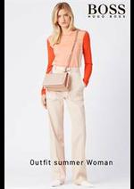 Prospectus Hugo Boss : Outfit summer woman