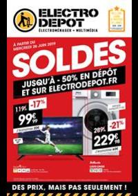 Prospectus ELECTRO DEPOT St Etienne du Rouvray : Soldes