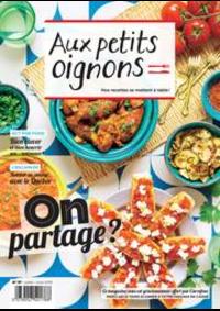 Prospectus Carrefour Drancy : Aux Petits Oignons Juillet/Aout
