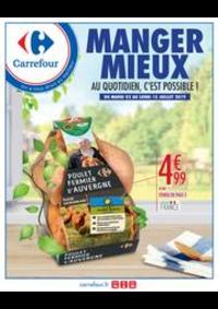 Prospectus Carrefour CHARENTON LE PONT : MANGER MIEUX AU QUOTIDIEN, C'EST POSSIBLE