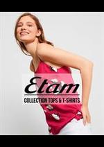 Prospectus Etam Lingerie : Collection Tops & T-shirts