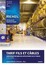 Tarifs Rexel : Complément tarif fils et câbles