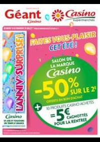 Prospectus Géant Casino : Cahier salon de la marque Casino