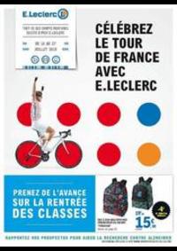 Prospectus E.Leclerc PONTARLIER : Catalogue E.Leclerc