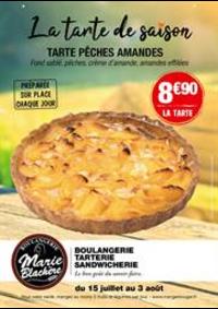 Prospectus Marie Blachère Anthy Sur Leman : La tarte de saison