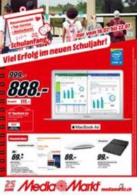 Prospectus Media Markt Bern  : Viel Erfolg im neuen Schuljahr!