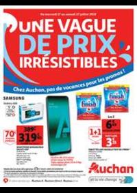 Prospectus Auchan Drive Plaisir : Une vague de prix irrésistibles