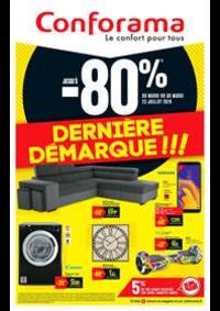 Prospectus Conforama COLOMBES : Dernière Démarque!!!