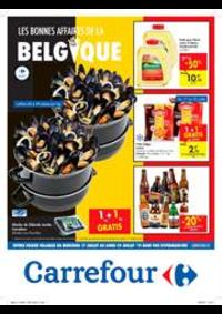 Prospectus Carrefour Express UCCLE Shell  : Les bonnes affaires de la Belgique