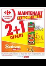 Promos et remises Carrefour Market : Maintenant et moins cher