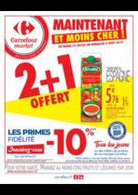 Prospectus Carrefour Market COLOMBES : Maintenant et moins cher