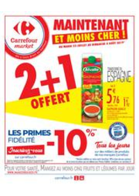 Prospectus Carrefour Market NANTERRE : Maintenant et moins cher