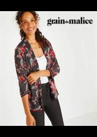 Prospectus Grain de Malice Roncq : Vestes Femme