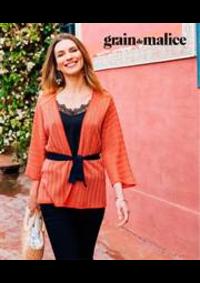 Prospectus Grain de Malice Roncq : Pulls & Gilets Femme