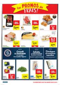 Prospectus Carrefour Market JEMAPPES : folder Carrefour Market