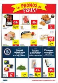 Prospectus Carrefour Market GERAARDSBERGEN : folder Carrefour Market